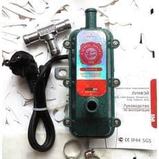 Подогреватель двигателя с помпой 1,8кВт, ЛУНФЭЙ, фото 1