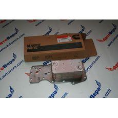 Маслоохладитель (теплообменник) двигателя Cummins -- Камминз 6ISBe  Арт. 3975818, фото 3