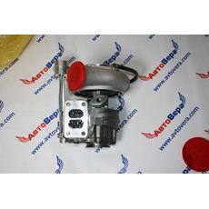Турбокомрессор (турбина) Holset HX351W двигателя Cummins -- Камминз 6ISBe 4043982, фото 4