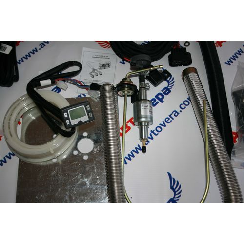 Воздушный отопитель Belief 5кВт 12В (бензин), фото 6