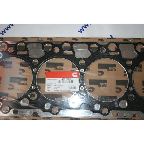 Прокладка головки блока цилиндров Cummins 4ISBe 4ISDe  4932209, фото 1