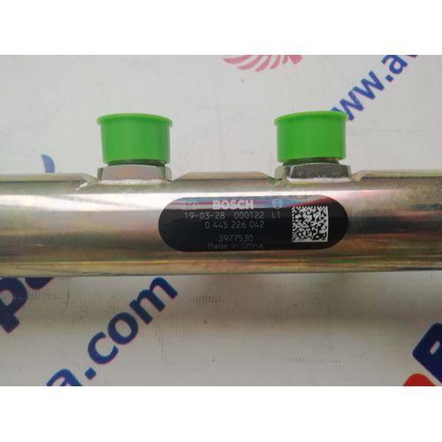 Рампа топливная (рейка)  Cummins Камминз 6ISBe / QSB 6.7 / 6ISDe  3977530, фото 3
