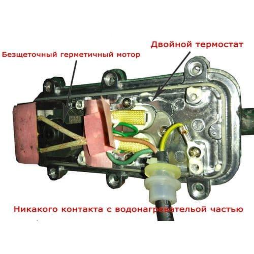 Подогреватель двигателя с помпой 2.2кВт, ЛУНФЭЙ, фото 2